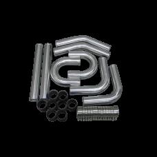 "3"" Intercooler Piping Kit for CRX Del Sol Civic"