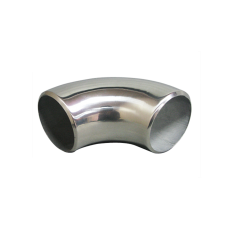 """1.9"""" O.D. Extruded 304 Stainless Steel Elbow 90 Degree Pipe , 3mm (11 Gauge) Thick"""