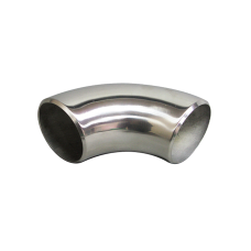 """2"""" O.D. Extruded 304 Stainless Steel Elbow 90 Degree Pipe , 3mm (11 Gauge) Thick"""