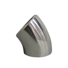 """2.36"""" O.D. Extruded 304 Stainless Steel Elbow 45 Degree Pipe , 3mm (11 Gauge) Thick"""