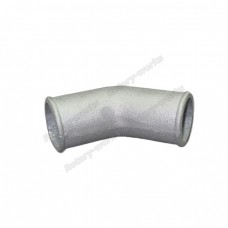 "2"" Cast Aluminum 45 Degree Elbow Pipe Turbo Downpipe"