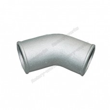 "2.5"" Cast Aluminum 45 Degree Elbow Pipe Turbo Downpipe"