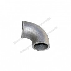 "2.75"" Cast Aluminum 90 Degree Elbow Tube Pipe Turbo Downpipe"