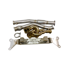 13B Turbo Engine Mount Manifold Downpipe For RX8 RX-8 Swap RX7 FD REW