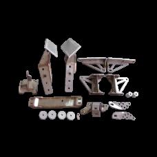 LS Engine T56 Transmission Mount Torsion Sway Bar Spacer For Mazda RX8