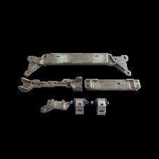 FD 13B Engine Mount Torsion Bar Sub-Frame Bracer For RX8 REW Swap RX-8