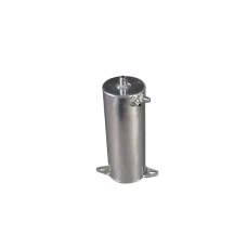 """Aluminum Fuel Surge Tank 4"""" Diameter x 10.5"""" H Works For Many Applications"""