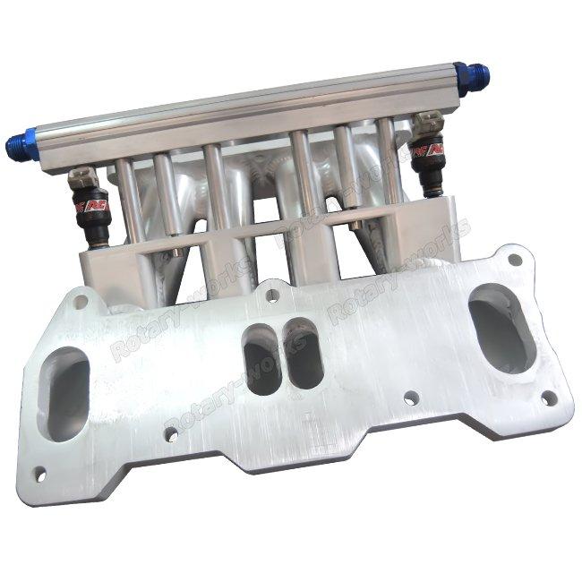 Lower Intake Manifold For Mazda 13B REW Rotary Engine 4 Port