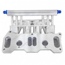 Lower Intake Manifold For Cosmo 13B RE Rotary 6 Ports Fuel Rail
