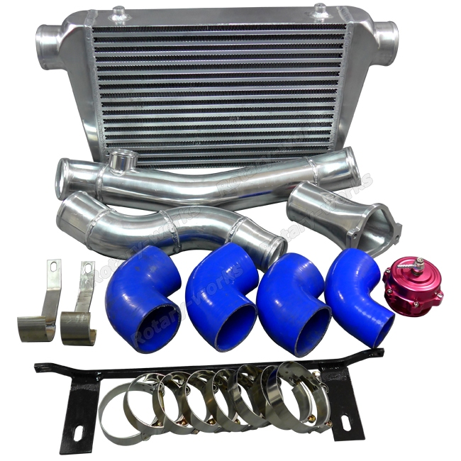 Twin Turbo Kit Rx7: Intercooler Piping Radiator Oil Cooler Kit For RX7 SA FB