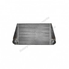 "24""x12""x3.5"" FMIC V-MOUNT TURBO 2.5"" Inlet & Outlet INTERCOOLER For RX7 RX-7"