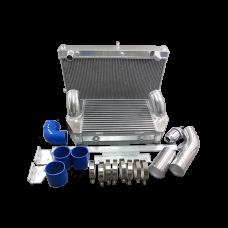 Intercooler and Radiator V-Mount Kit For RX7 FD