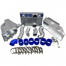 Intercooler Piping Cold Air Intake Air Box Shroud Kit For RX7 RX-7 FD