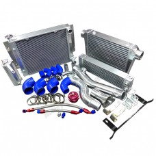 Intercooler Piping Radiator Oil Cooler Kit For RX7 SA FB 13B RX-7 Turbo