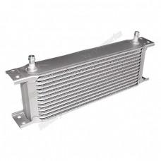 "Aluminum Oil Cooler 11"" Core, 13 Row, 3/8"" Inlet, Hi Performance"