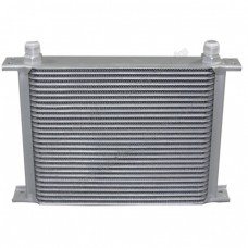 "Aluminum Oil Cooler 11"" Core 28 Row AN10 Fitting Hi Performance"