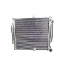 Aluminum Radiator For 86-92 2nd Gen Mazda RX-7 RX7 FC Manual Transmission