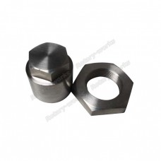 Titanium Front pulley Nut For 20B + Flywheel Nut