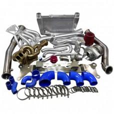 13B Engine Mount Turbo Intercooler Piping Intake Manifold Kit For RX8 Swap