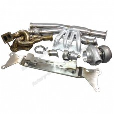 13B Turbo Engine Mount Manifold Downpipe Intake MF Kit For RX8 RX-8 Swap RX7 FD