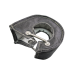Black T3/T4 T4 GT35 Turbo Charger Heat Shield Blanket Fiber Glass