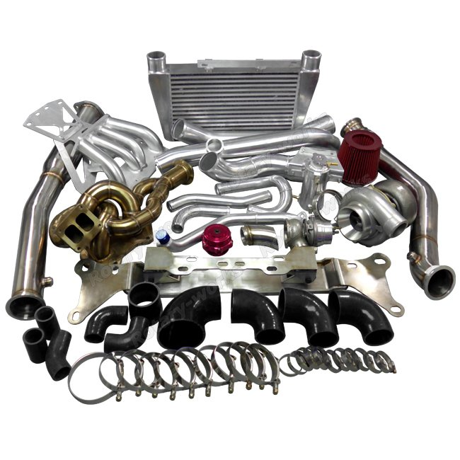 Twin Turbo Kit Rx7: 13B Engine Mount Turbo Intercooler Piping Intake Manifold