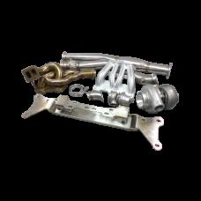 13B Turbo Engine Mount Manifold Downpipe Intake MF Kit For RX8 RX-8 Swap RX7 FD