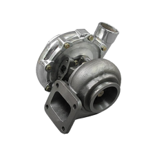 T72 Turbo Charger T4  .96 A/R P Trim , Polished Compressor Housing,  72mm Compressor Wheel