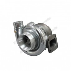 T76 Turbo Charger T4  .81 A/R P Trim , Polished Compressor Housing,  76mm Compressor Wheel