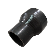 """3""""-2"""" Black Reducer Silicon Hose Coupler Straight Intercooler Pipe 4"""" Long"""