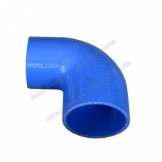 "Silicon hose 3""-2.5"" 90 degree reducer Intercooler pipe"