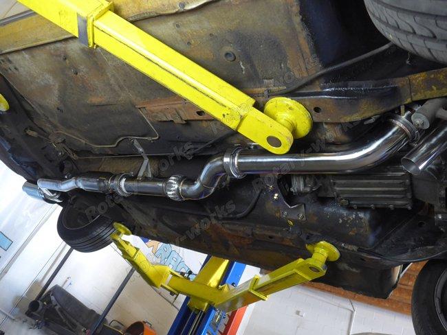 FC 13B Rotary Engine NA Header Catback Exhaust For Datsun ...
