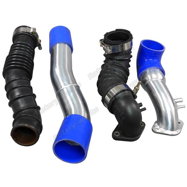 Intercooler Piping Cold Air Intake Air Box Shroud Kit For