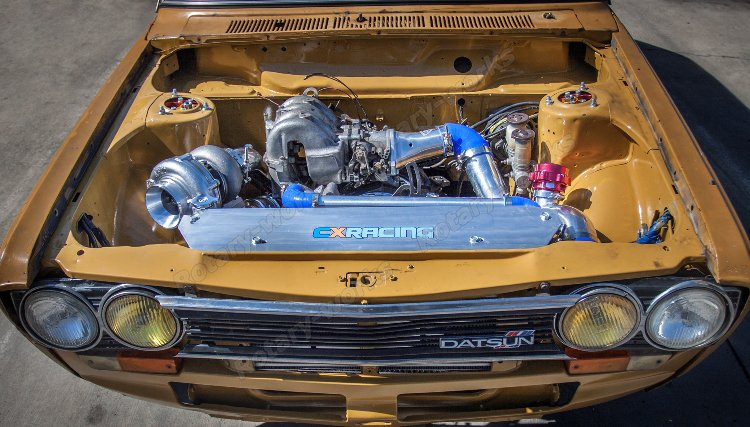 Thick Wall Turbo Manifold for FC 13B Rotary Engine Datsun