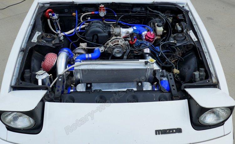 Oil Cooler Line Fitting Kit For Mazda RX7 RX-7 SA FA FB 13B