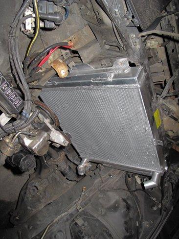 Aluminum Radiator For 86 92 2nd Gen Mazda Rx 7 Rx7 Fc